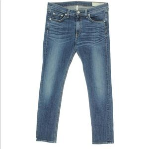 Rag & Bone Cropped Capri Skinny Jeans